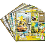 "Ciao Bella, START YOUR ENGINES - Double-Sided Paper Pack 90lb 12""X12"" 12/Pkg"