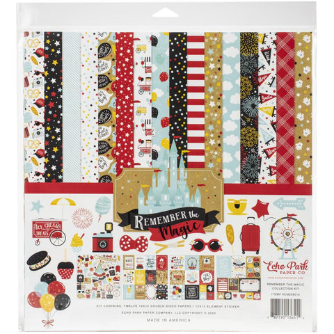 "Remember the Magic - Echo Park Collection Kit 12""X12"""