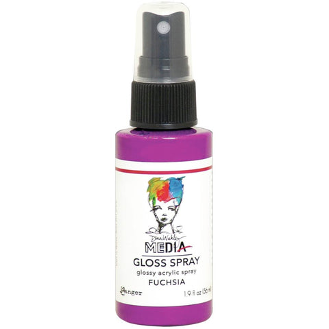 Dina Wakley Media Gloss Sprays 2oz - VARIOUS COLORS