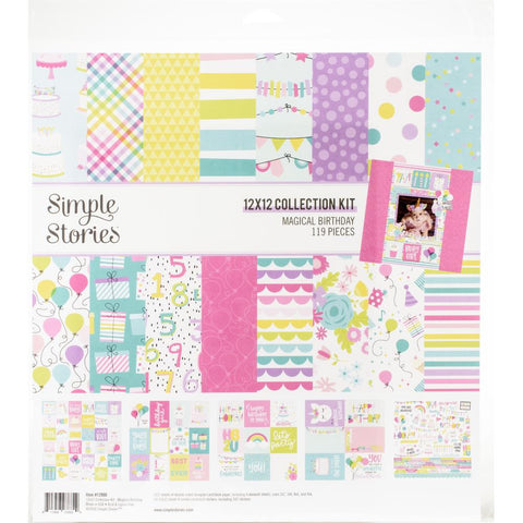 "Simple Stories, MAGICAL BIRTHDAY - Collection Kit 12""X12"""