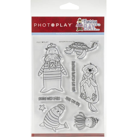 PhotoPlay, MONTEREY BAY - photopolymer stamp