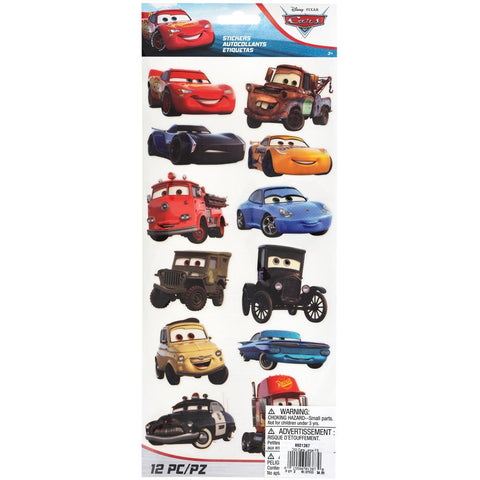 Cars - EK Disney Large Flat Stickers