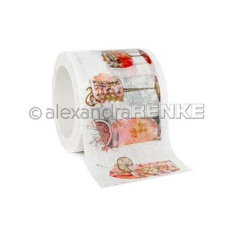 Alexandra Renke Washi Tape 40mmX10m - Orange Cocktails