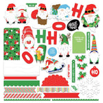 Card Kit Stickers, Gnome For Christmas- Photoplay
