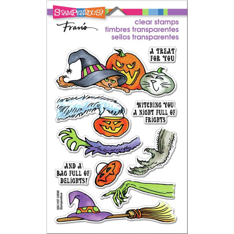 Stampendous Perfectly Clear Stamps Frightful Gift