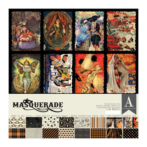 "Authentique Collection Kit 12""X12"" Masquerade"