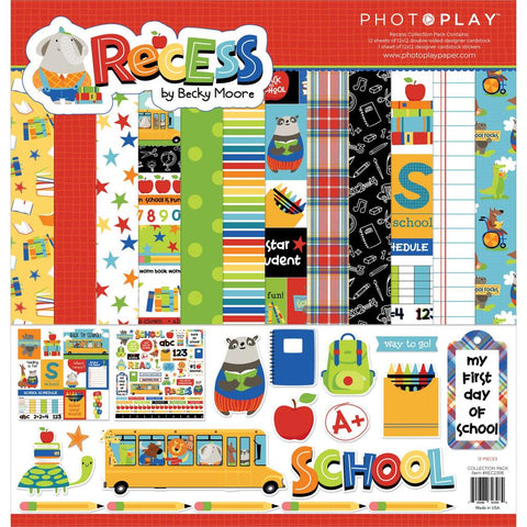 "PhotoPlay Collection Pack 12""X12"" Recess"
