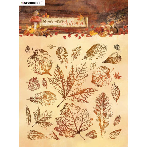Studio Light Wonderful Autumn Background Stamp NR. 483