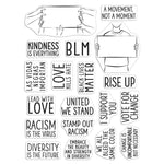 "Hero Arts Clear Stamps 6""X8"" Power To The People"
