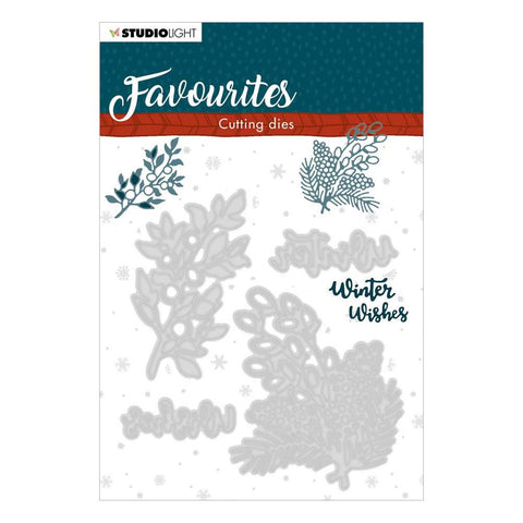 Studio Light Winter's Favourites Cutting Die NR. 336