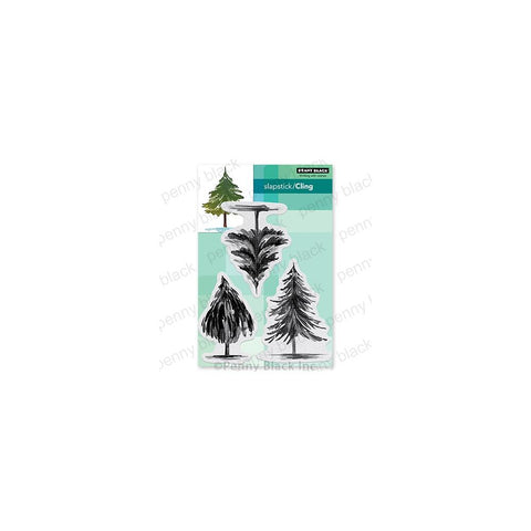 Penny Black Cling Stamps Tannenbaum