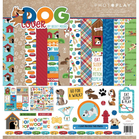 "PhotoPlay Collection Pack 12""X12"" Dog Lover"