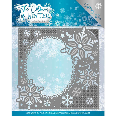 Find It Trading Jeanine's Art Die Winter Frame, The Colours Of Winter