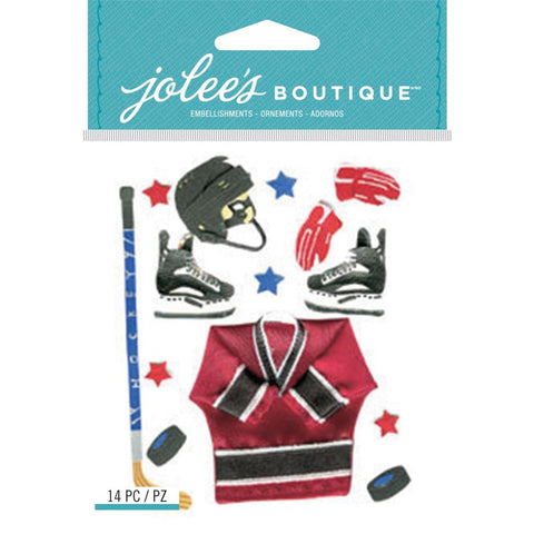 Jolee's Boutique Dimensional Stickers Ice Hockey
