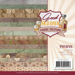 "Find It Trading Yvonne Creations Paper Pack 6""X6"" 23/Pkg Good Old Days, Double-Sided"
