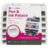 "Desk Maid Pen & Ink Palace White, 7""Hx9""W"