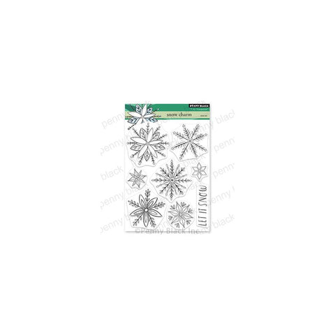 Penny Black Clear Stamps Snow Charm