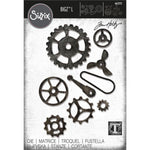 Sizzix Bigz L Die By Tim Holtz Mechanical