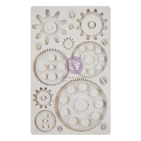 "Finnabair Decor Moulds 5""X8"" Machine Parts"