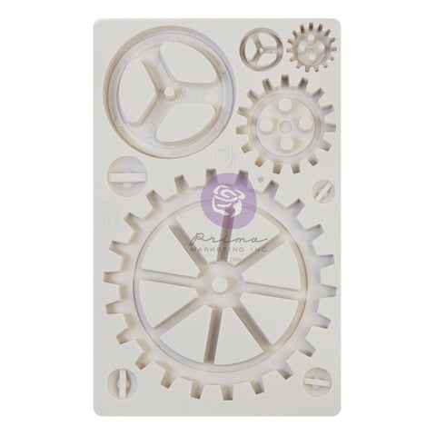 "Finnabair Decor Moulds 5""X8"" Large Gears"