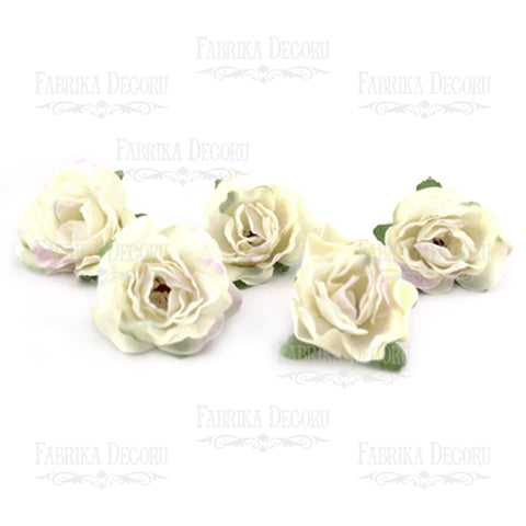 Flowers BEIGE WITH LILAC 1 PCS