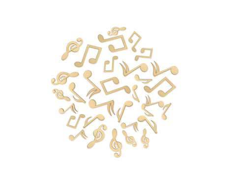 Music Notes - Laser-Cut Wood Shapes