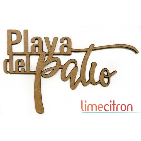 Chipboard - Playa Del Patio