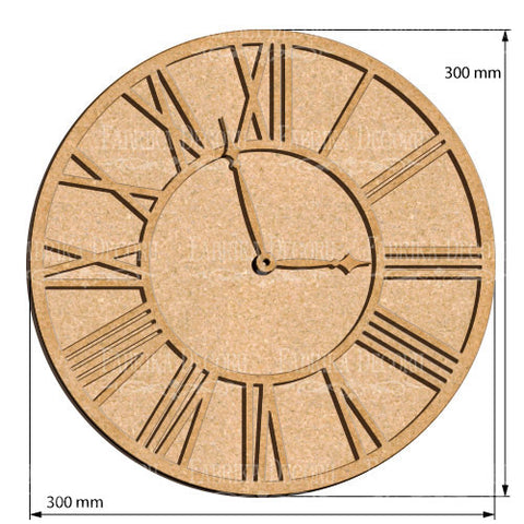 Fabrika Decoru ART BOARD CLOCK 3 30Х30 CM