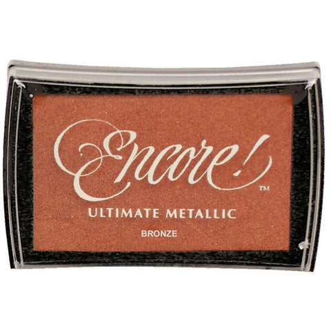 Encore Ultimate Metallic Ink Pad Bronze