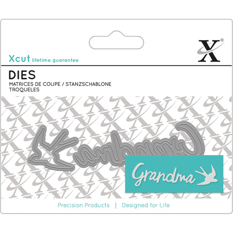 Xcut Mini Sentiment Dies 2/Pkg Grandma