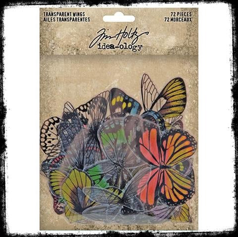 Tim Holtz Findings, Transparent Wings