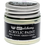 Finnabair Art Alchemy Opal Magic Acrylic Paint - VARIOUS COLORS