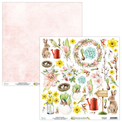 Mintay Papers ELEMENTS 12 X 12 - BEAUTY IN BLOOM 09