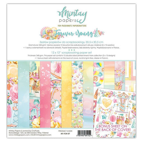 Mintay papers 12x12 Collection Forever Young