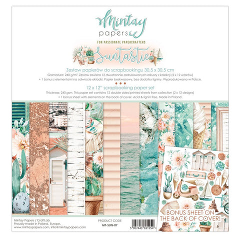 Mintay papers 12x12 Collection Suntastic