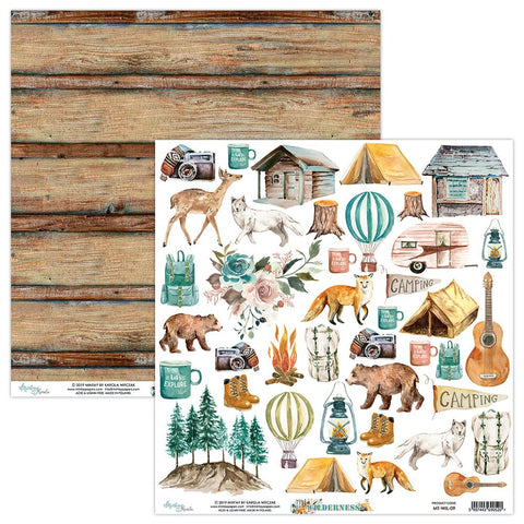 Mintay paper 12x12 Wilderness Elements sheet