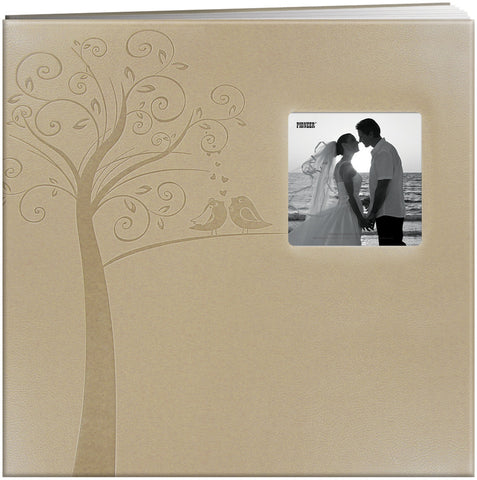 Pioneer 12X12 Embossed Frame Scrapbook, Wedding - Tree