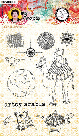 Art By Marlene Clear Clear Stamp Artsy Arabia  nr.60