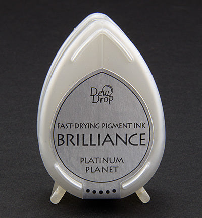 Brilliance Dew Drop Pigment Ink Pad Platinum Planet