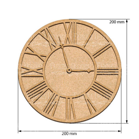 Fabrika Decoru ART BOARD CLOCK 3 20Х20 CM