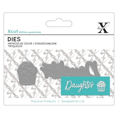 Xcut Mini Sentiment Dies 2/Pkg Daughter
