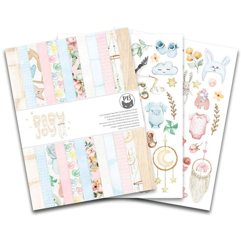 "P13 Baby Joy - Double-Sided Paper Pad 6""X8"" 24/Pkg"