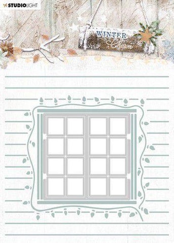 Studio Light Cutting & Embossing Folder Winter Charm nr.08