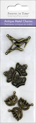 Metal Charms Antique Finish
