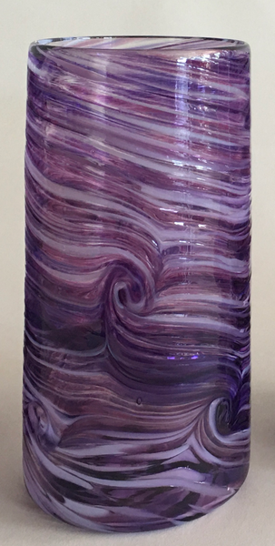 Tall Tumbler / Highball Glass - Amethyst