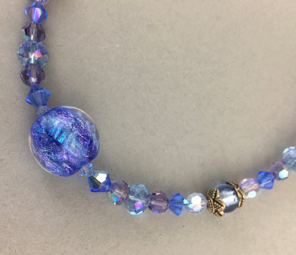 "18-1/2"" beaded necklace"