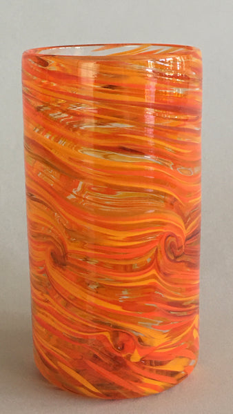 Tall Tumbler / Highball Glass - Orange