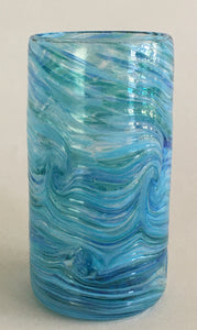Tall Tumbler / Highball Glass - Tahoe Blue