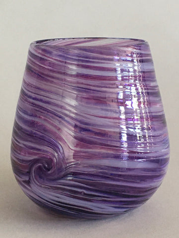 Stemless Wine Glass - Amethyst