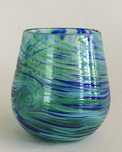 Stemless Wine Glass - Tidepool